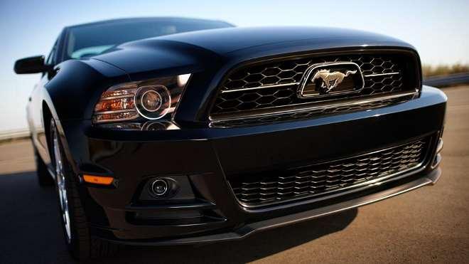 Mustang 2014 Hood