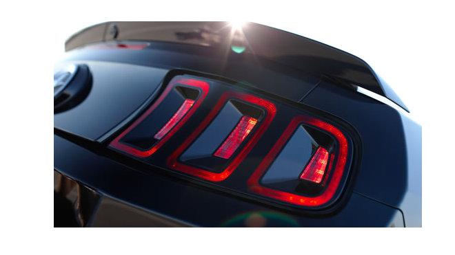 Mustang 2014 Taillamp