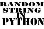 random string in python