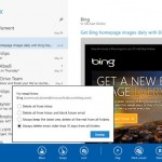 Windows 8.1's mail with outlook integration