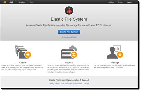 Elastic File Storge