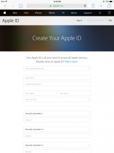CREATE NEW ID