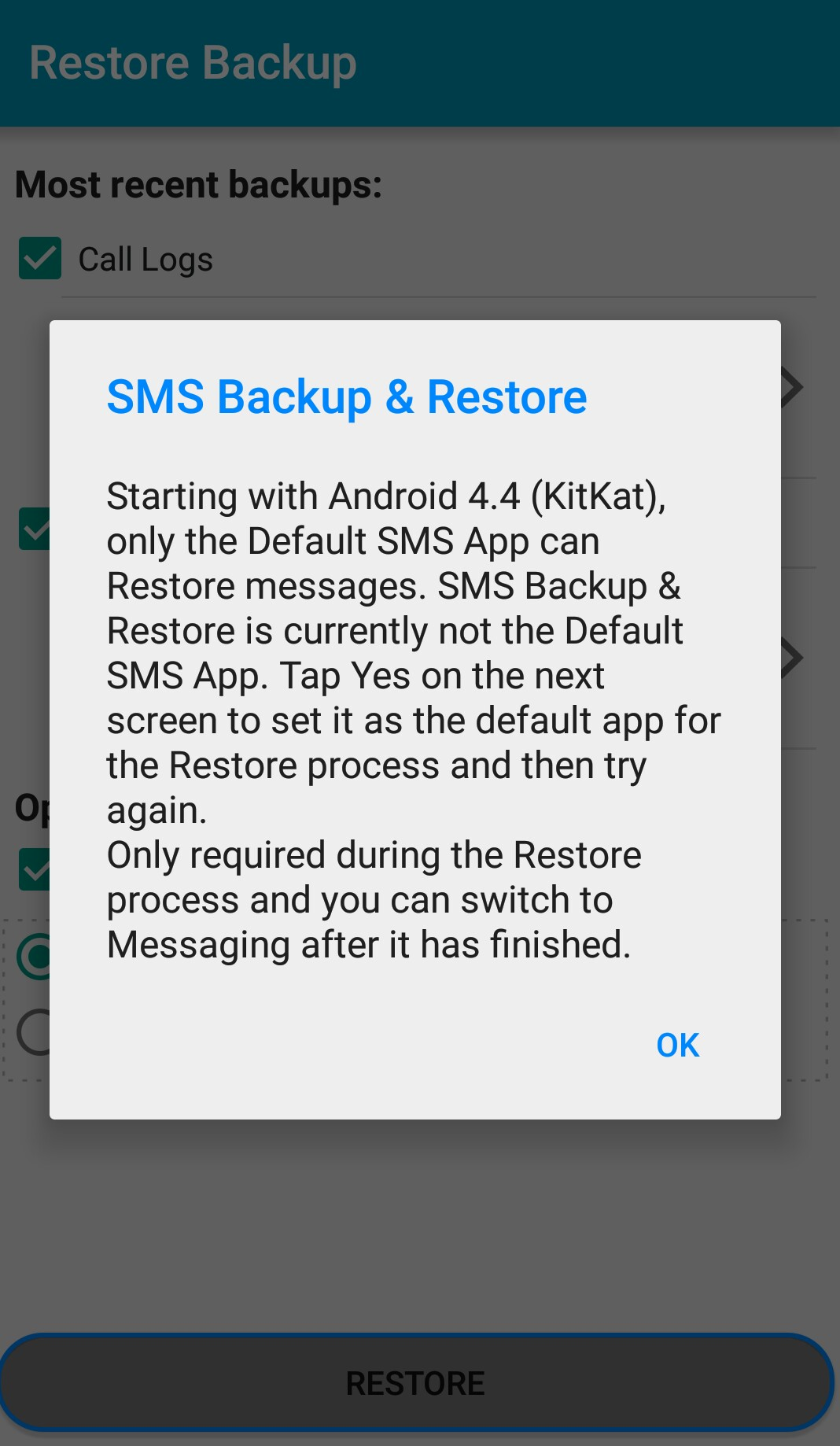 how to get deleted sms back on phone