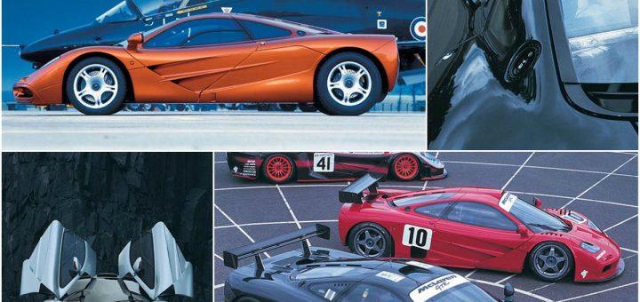 McL F1 design  collage