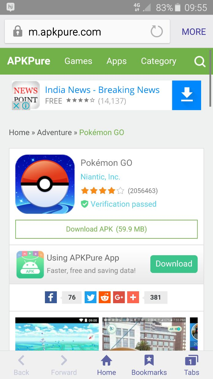 Pokemon Go Apkpure