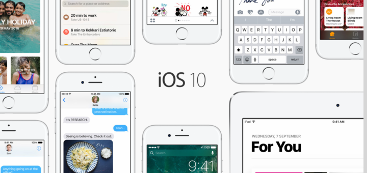 iOS 10 : Top Features