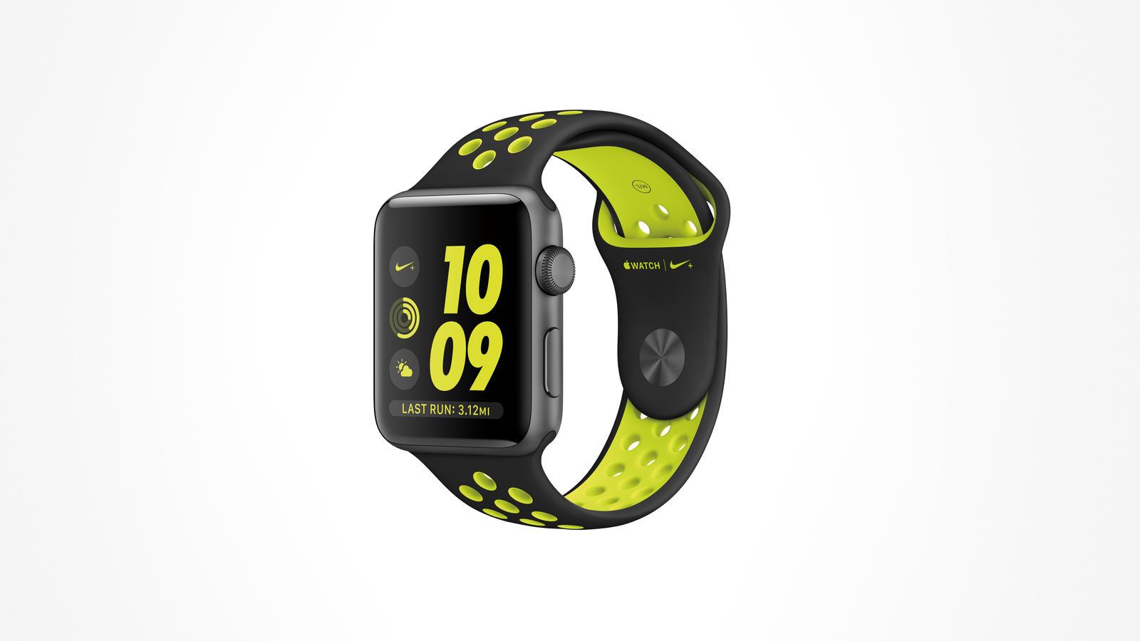 apple nike+ watch