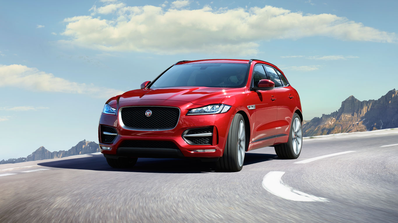 Suave And Sporty Jaguar F Pace Suv To Be Launched In India 2017 Interior The Is Attractive Classy That Surly Makes It Perfect Combination Of Luxurious Beauty Out With Extraordinary Performance Elegant
