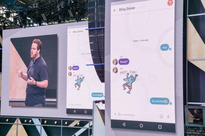 google allo new emoji and stickers
