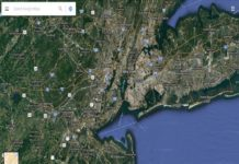 google maps to sow how busy an area is in real-time