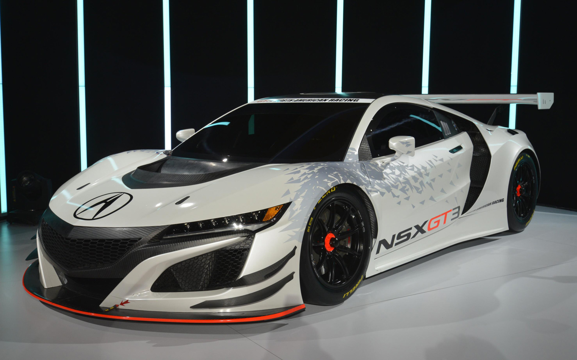All new race-spec version of the Acura NSX GT3