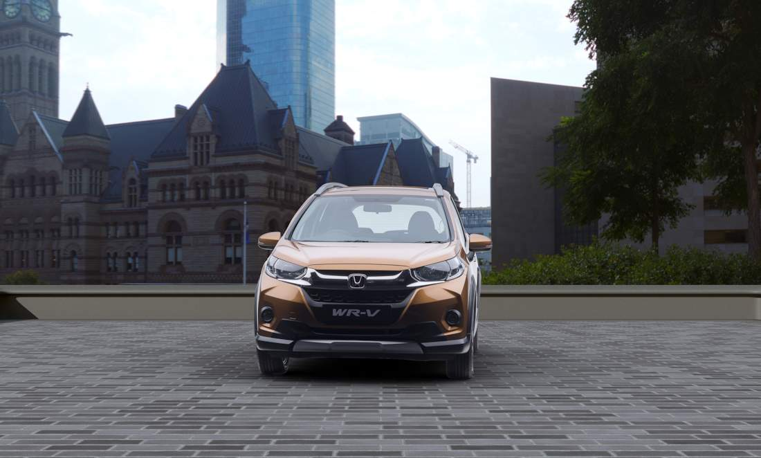 All New Honda Wr V The Complete Wow To The Eyes