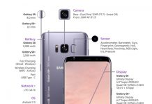 Samsung introduces Galaxy S8 and S8+ : Quad Core, 4GB RAM , 12 MP camera, Quad HD+ display