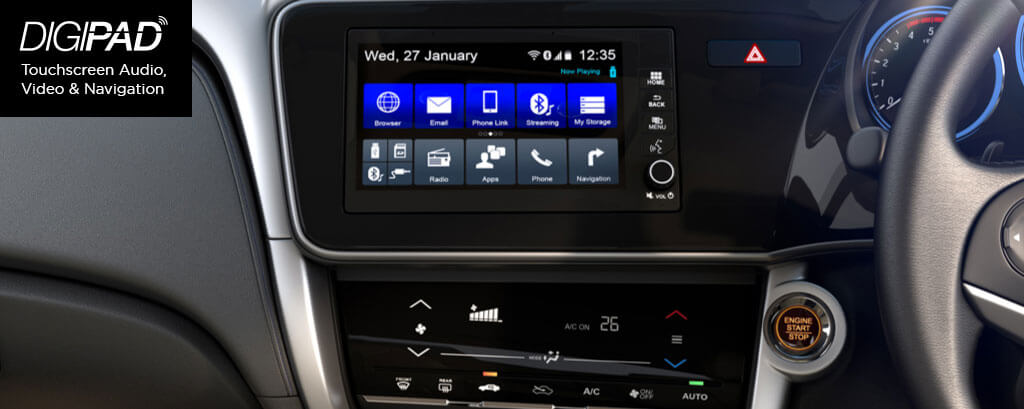 Technology Banner front Console