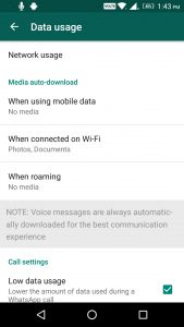whatsapp media download options