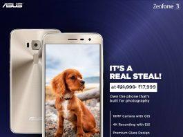 The Asus ZenFone 3